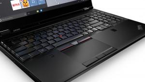 Lenovo ThinkPad P50 jest bardzo cichy i nie daj znać o tym, że pod obudową znajdują się tak wydajne podzespoły